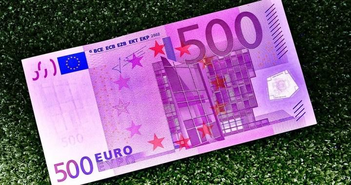 Novčanica do 500 evra važi samo do petka