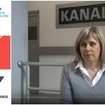Zbog Sokoj-a i OFPS direktorka TV Kanala 9 ponovo štrajkuje glađu