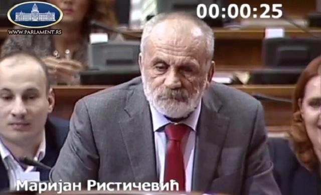 Rističević: Sramota je da je sudija Majić oslobodio Gnjilanskuu grupu i još uvek je sudija