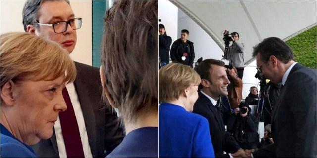 Vučić o Berlinu: Merkel ih zabezeknuto gledala…