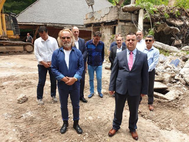 Rodoljub Drašković obnavlja Titovu vilu na Tjentištu