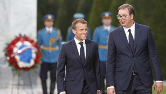 Makron u rešenju za Kosovo neće nastupati bez Merkel