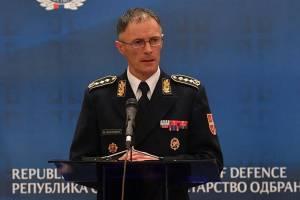 Mojsilović: Koronavirus opasan po društvo, vojska obavezna da odgovori na izazov