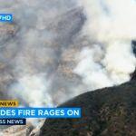 """Besni """"sumnjivi"""" požar kod Los Anđelesa, vlasti apeluju na ljude da se evakuišu (VIDEO)"""