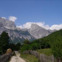 Les vallées de Teth, Valbona et Berat
