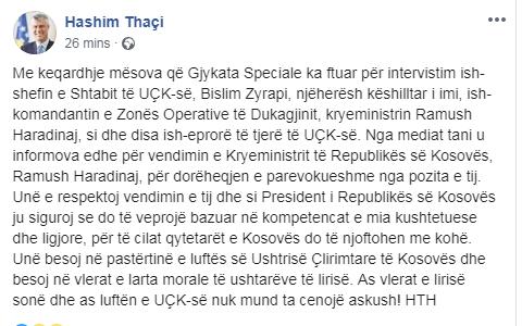 Thaci Fb