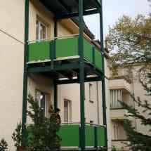 Balkonanlage, Anbaubalkon, Vorstellbalkon, Balkonanbau