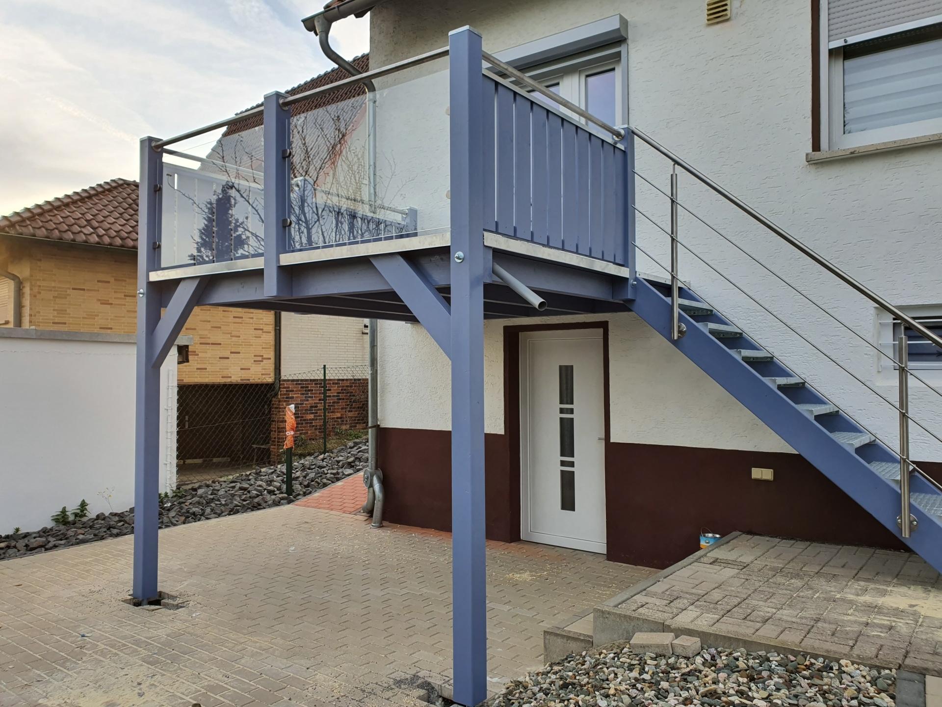 Balkontreppe