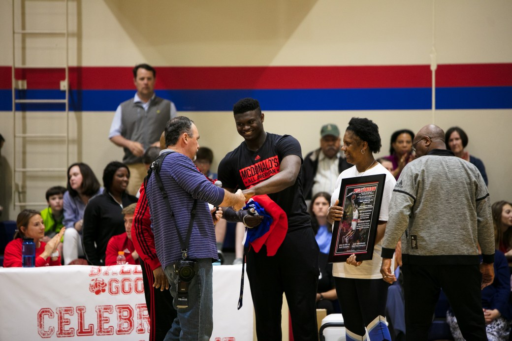 Ball4Good Honors Zion Williamson
