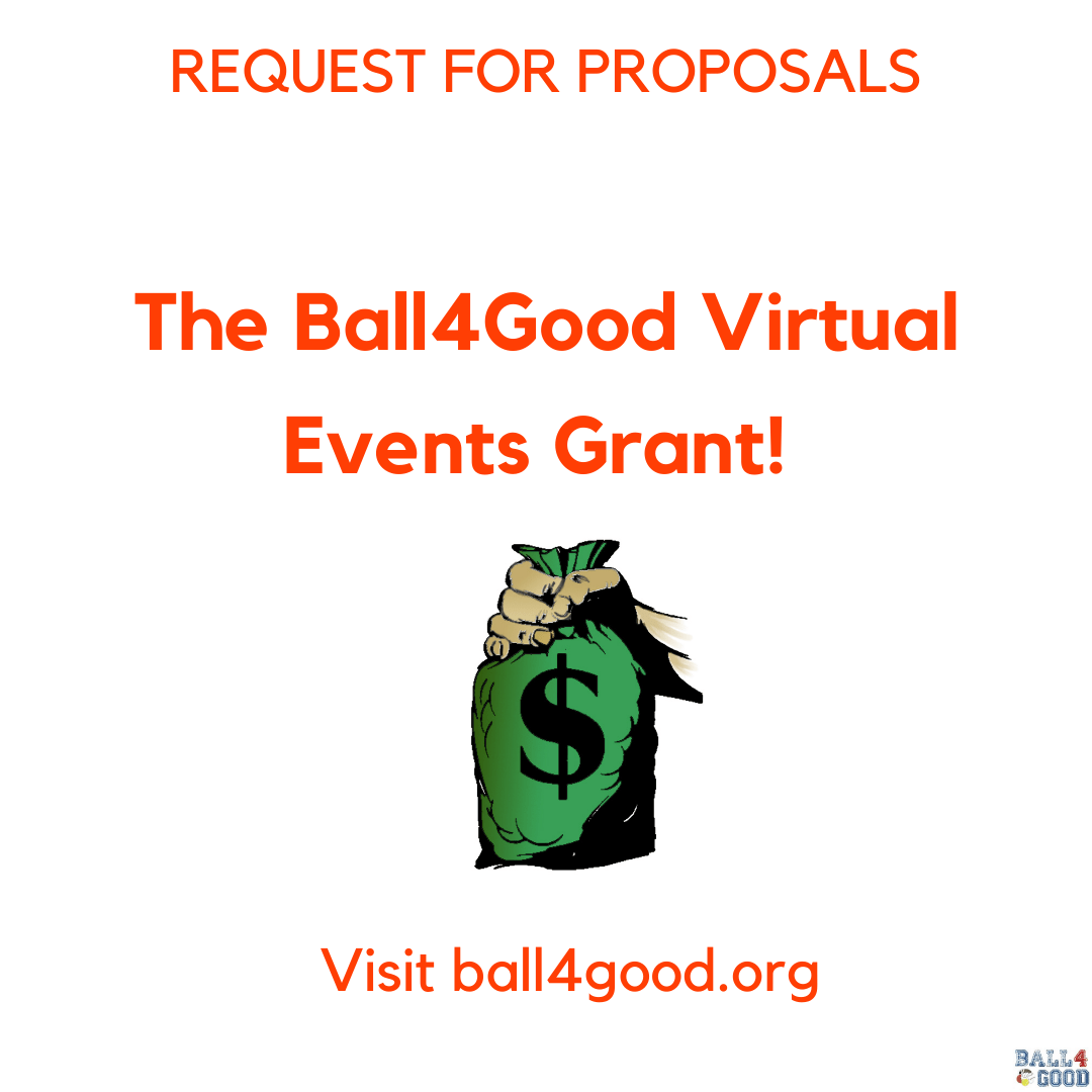 Nonprofits - Apply for the Ball4Good Grants