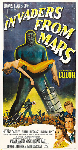 INVADERS FROM MARS (1953) ON THE TEXAS 27 FILM VAULT ...