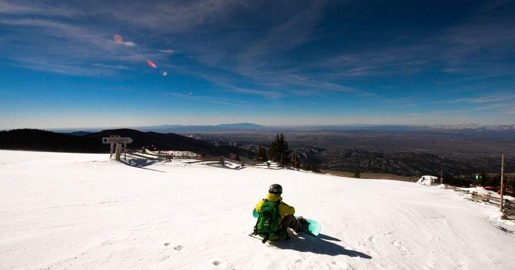 Snowboarding Ski Santa Fe