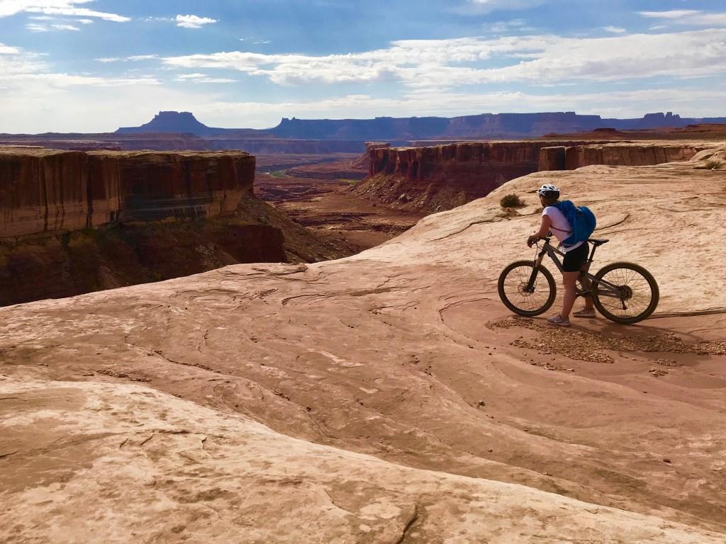 mountain bike white rim trail