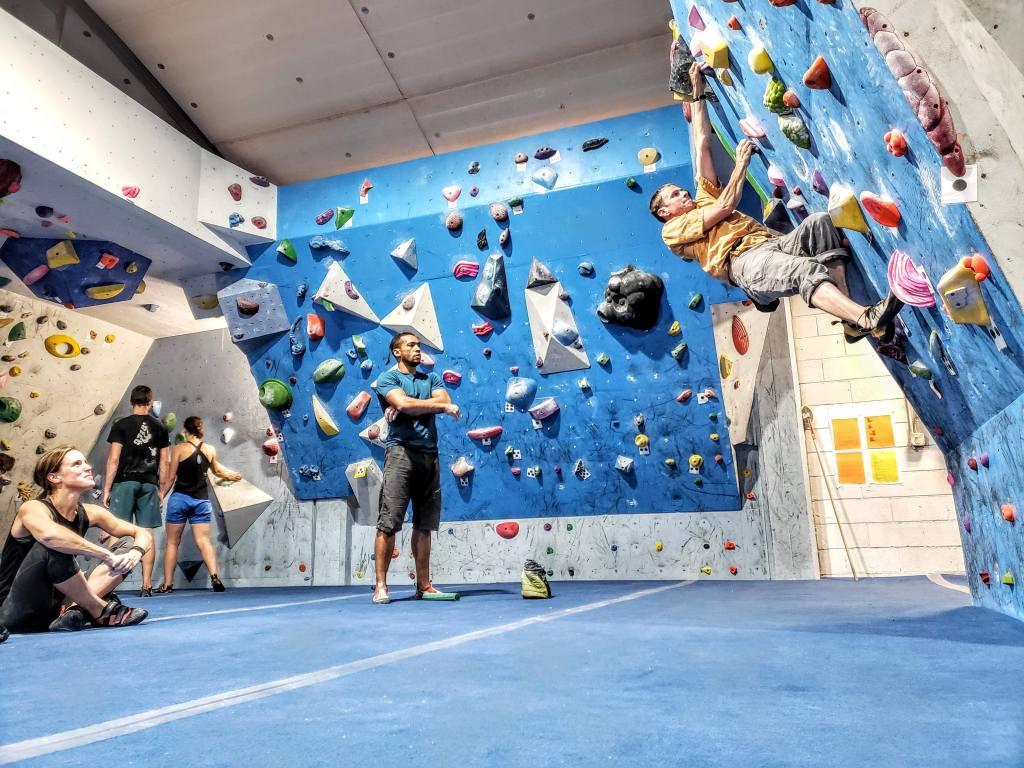 Rock climbing gym in Durango, Colorado
