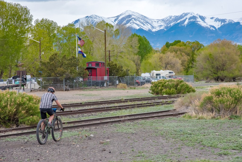 Mountain biking in Salida, Colorado