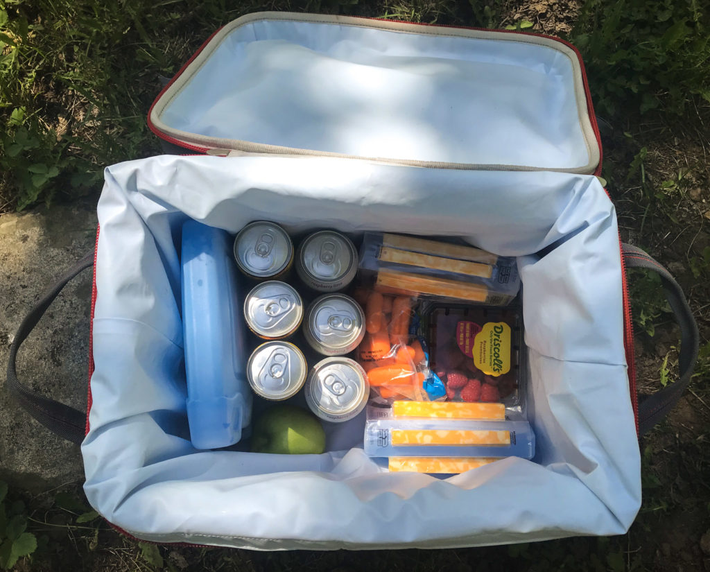 packing a road trip cooler