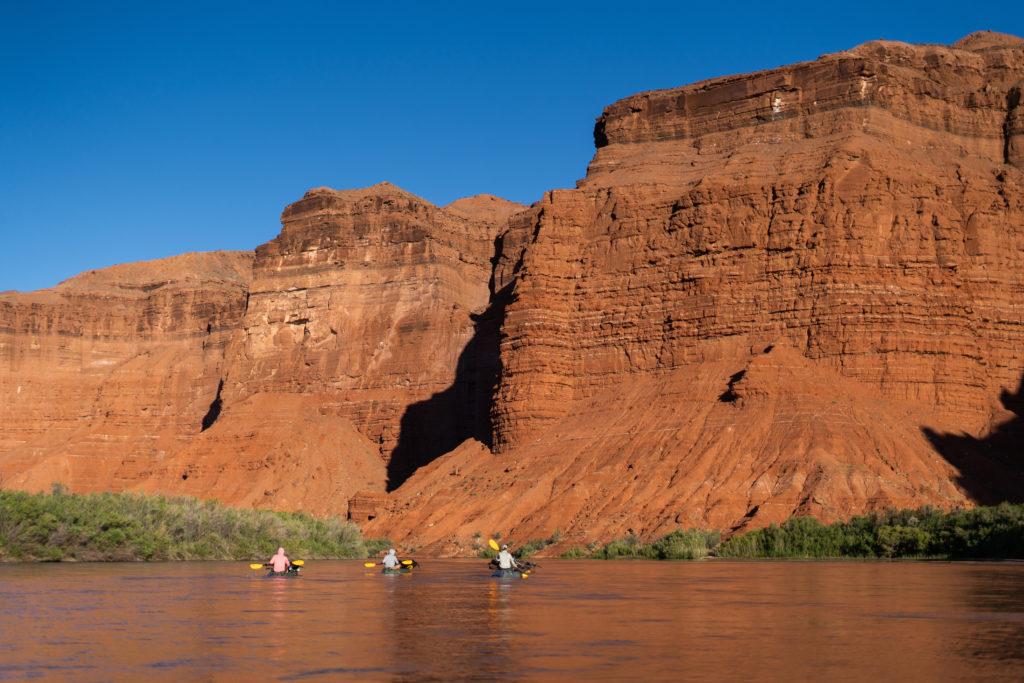 Packraft San Juan River
