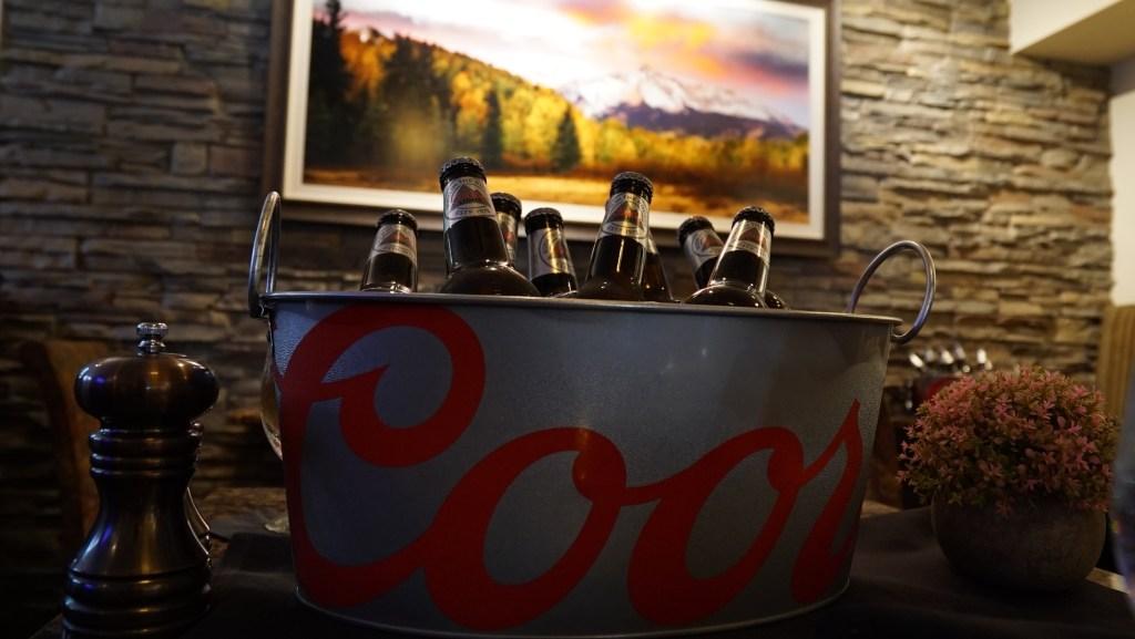 coors light bucket
