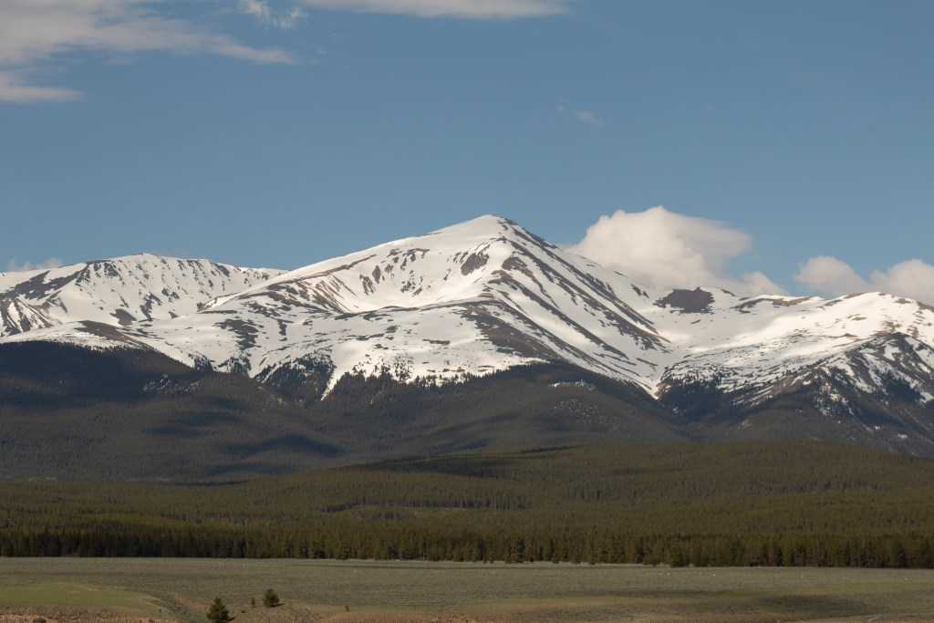 Highpointing - Mt. Elbert