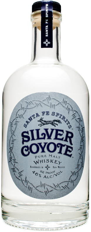Santa Fe Spirits Silver Coyote Whiskey
