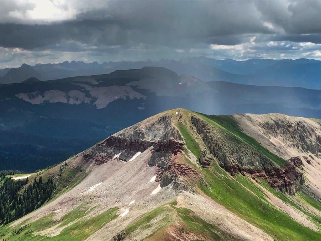 southwest colorado high elevation mountain biking blackhawk pass colorado trail