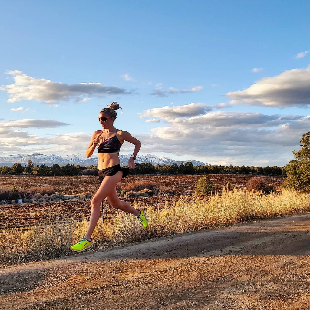 meredith edwards sponsored athlete running scenic