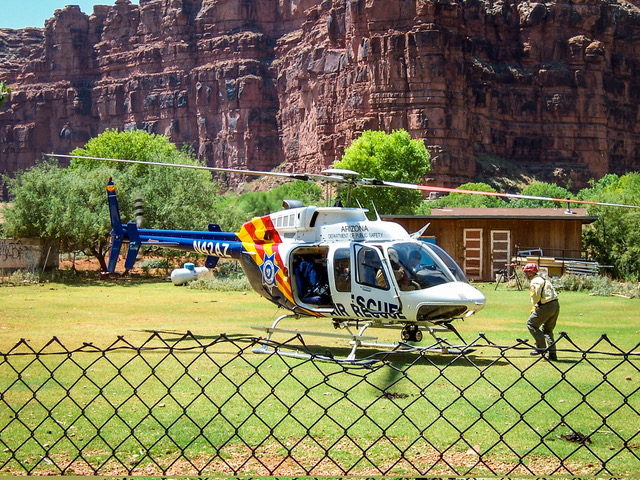 search and rescue helicopter bad decision making havasu canyon flash flood