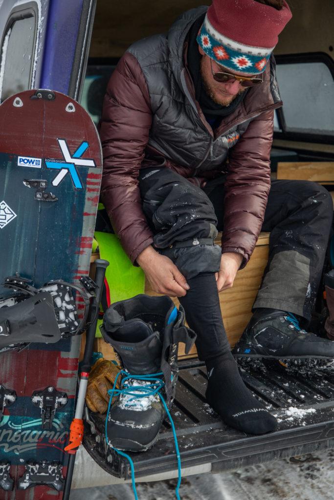 swiftwick pursuit twelve sock ski snowboard touring