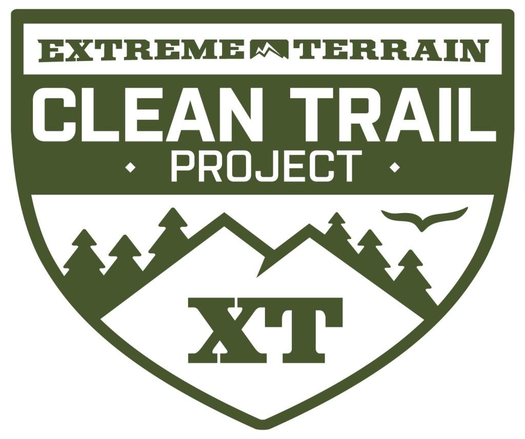 ExtremeTerrain clean trail project logo