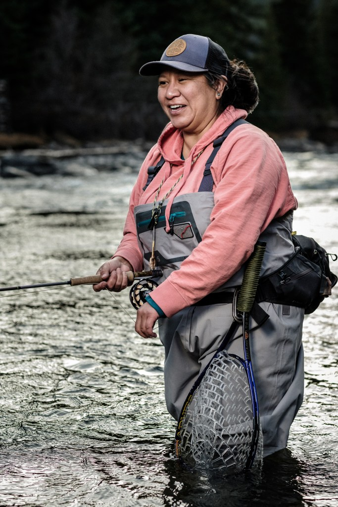 erica nelson fly fishing happiness