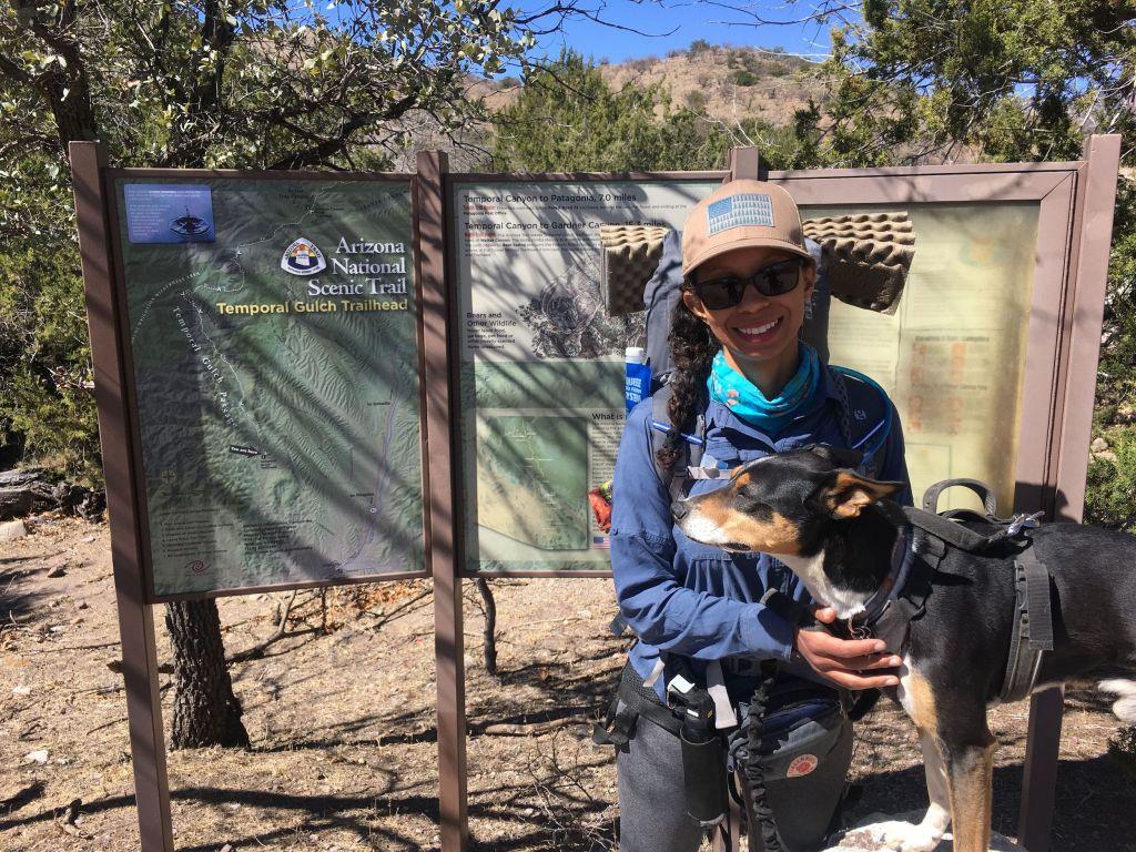 arizona trail thru-hiking