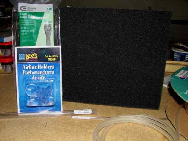DIY Poret Foam Filters