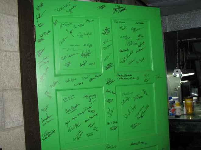 Signature Door at All Oddball Aquatics