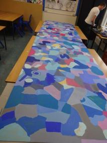 2016.2.12 Yr 7 art mural project (2)