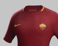 La nuova maglia HOME della ROMA per la stagione 2017-28