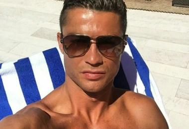 Cristiano selfie