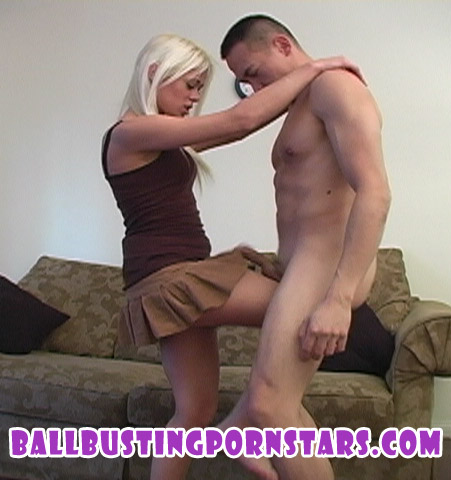 she ballbusting captions