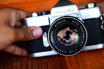 Minolta SR1 + rokkor 55mm F1.8 ballcamerashop (1)