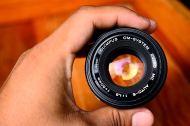 olympus om 50mm F1.8 For Olympus Mirrorless Micro Four Third ballcamerashop (8)