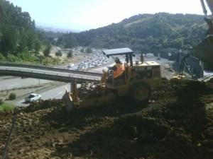 Job 157 - Caldecott Tunnel Grading - Photo 11