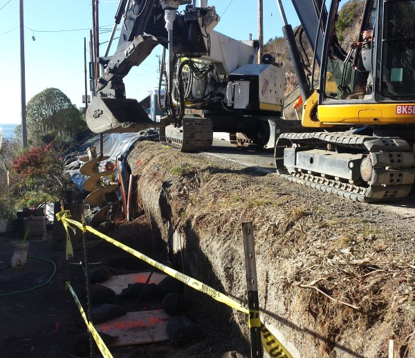 Job 188 - Hwy 1 Jenner Soldier Pile Wall