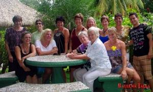 La red de mujeres - Costa Ballena - Photo by Dagmar Reinhard