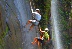 canyoning nauyaca waterfall south pacific costa rica Waterfalls