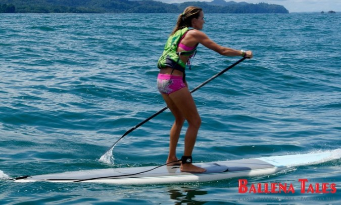 SUP-Competition Bahia Uvita 2013 - Female winner.