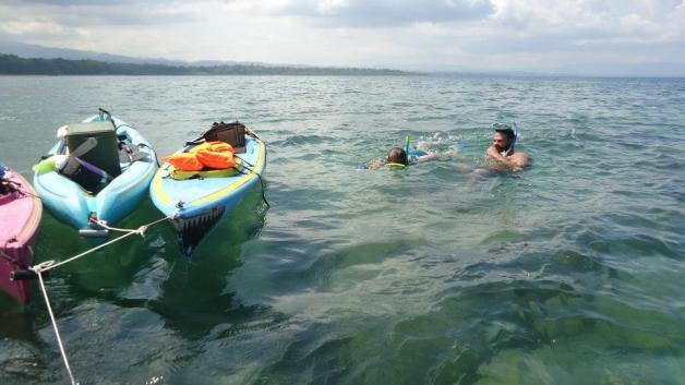 kayak in golfo dulce costa rica