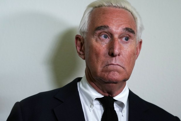 Roger Stone Charged