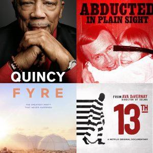 Documentaries on Netflix and Hulu