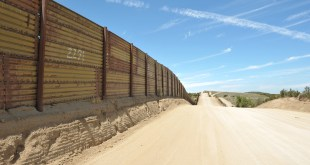 Border Wall In Mexico