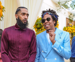 Nipsey Hussle and Jay-Z