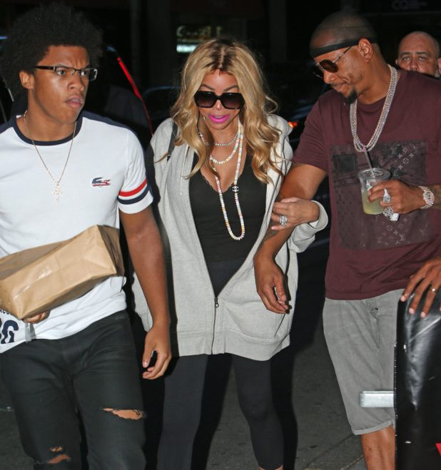 Wendy Williams' Kevins in Fight